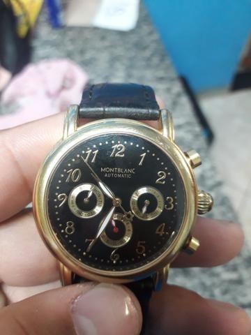 094ccb0d571 Vende-se relógio Montblanc automatic - Bijouterias