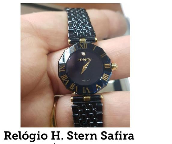 b840960d5cb Relógio H Stern Safira - Bijouterias