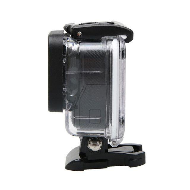 GoPro assessórios case estanque Hero 7 6 5 acrílico transferente - Foto 4
