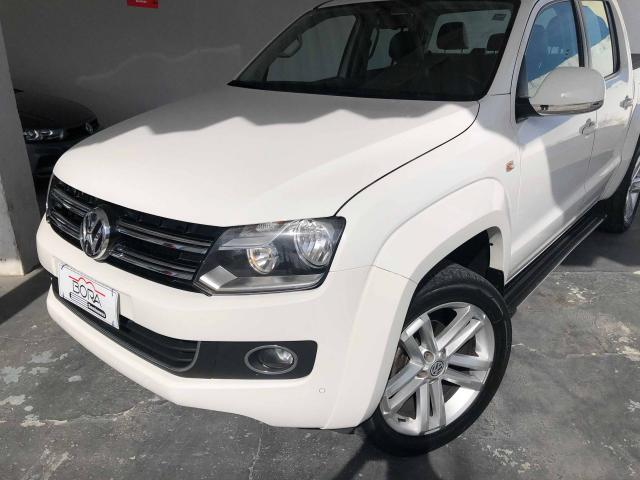 AMAROK 2015/2016 2.0 HIGHLINE 4X4 CD 16V TURBO INTERCOOLER DIESEL 4P AUTOMÁTICO - Foto 2