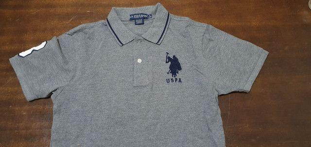 Camisa polo Original US POLO, novinha  número 14-16 . - Foto 3