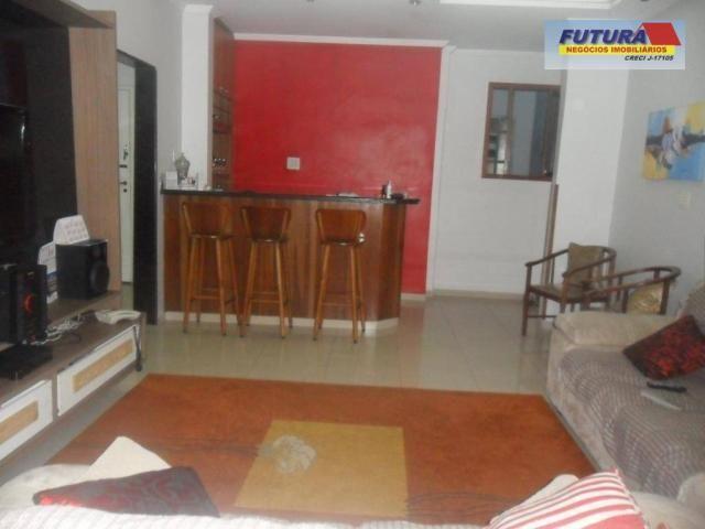 Apartamento com 3 dormitórios à venda, 127 m² por R$ 395.000,00 - Gonzaguinha - São Vicent - Foto 5