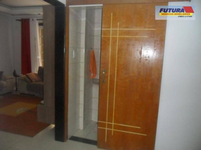 Apartamento com 3 dormitórios à venda, 127 m² por R$ 395.000,00 - Gonzaguinha - São Vicent - Foto 8