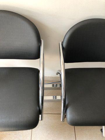Cadeira escritório longarina - Foto 2