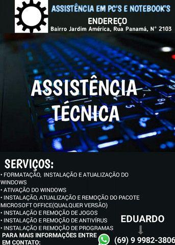 Assistência Técnica(Pfv leia a descrição)
