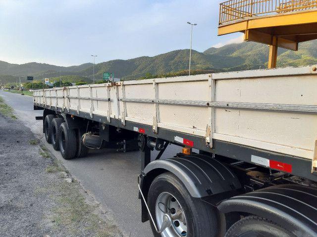 Carreta Reboque Krone S Cot Cabb carga seca com pino de container ANO 1994   - Foto 16