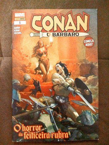 """Revistas em quadrinhos (HQs) do """"Conan, o bárbaro"""" - Foto 2"""