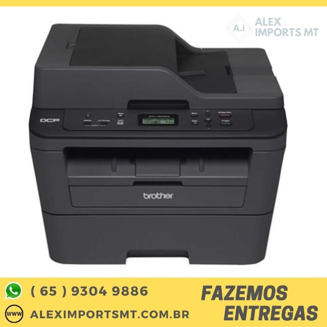 Multifuncional Laser Brother Dcp-L2540Dw Mono 30ppm a 2400dpi Impressora