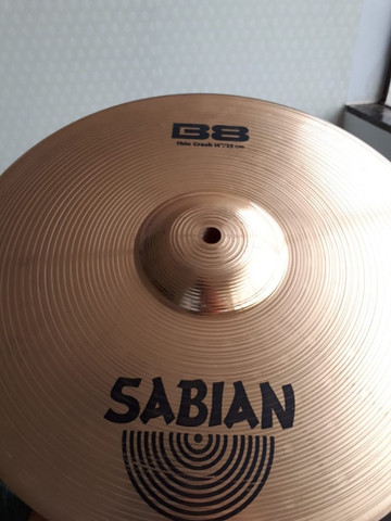 Pratos Bateira Zildjian/ Sabian [Não Compre Sem Antes Ver Esse Anuncio] - Foto 4