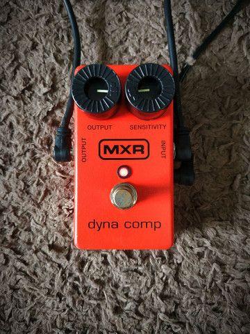 Pedal Compressor MXR - Dyna Comp