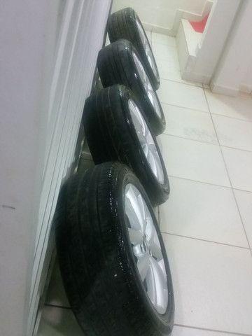 Roda aro 16 com pneus  - Foto 3