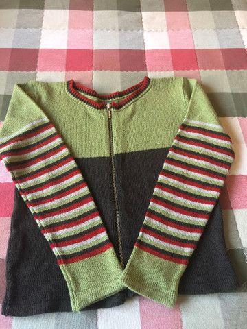 Casaco cantão tricot p
