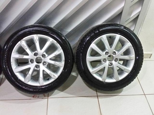 Roda aro 16 com pneus  - Foto 5
