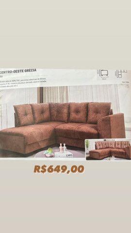Sofá formato L