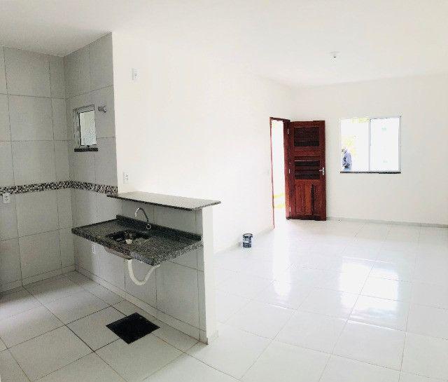 DP casa nova com 2 quartos 2 banheiros a 10 minutos de messejana - Foto 15