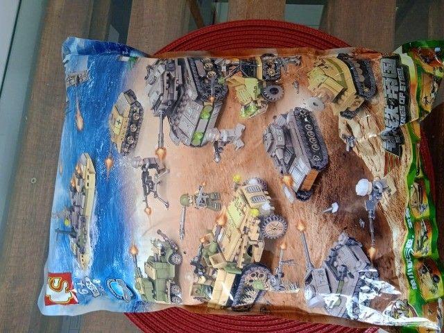Brinquedos Blocos De Montar Diversão Infantil Lego