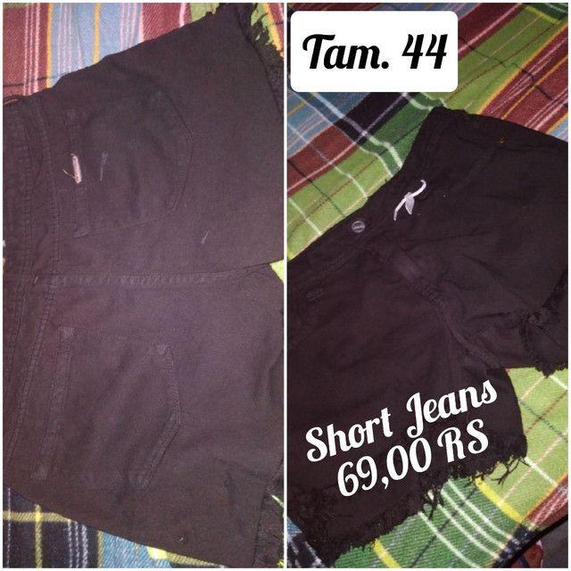 Calça jeans masculinos e femininos - Foto 4