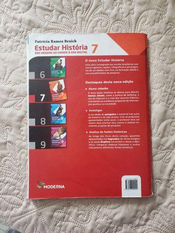 Livro - Estudar História 7 Usado - Foto 2