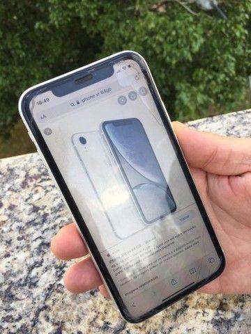iPhone XR 64GB Branco * Aceito cartão
