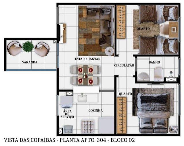 Lançamentos Apartamentos Copaíbas  - Foto 9