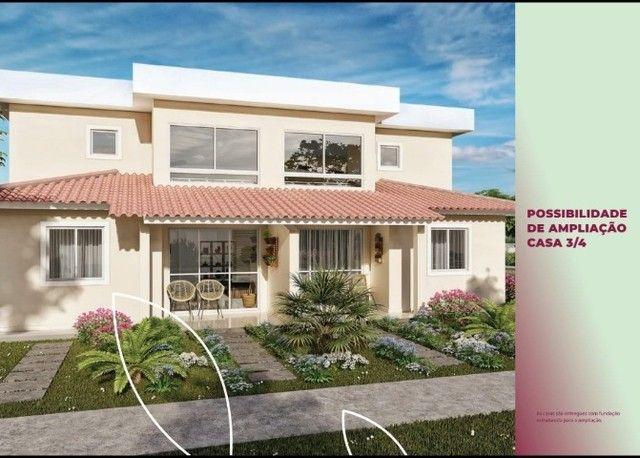 Casa de 2 ou 3 quartos, com possibilidade de mais um pavimento