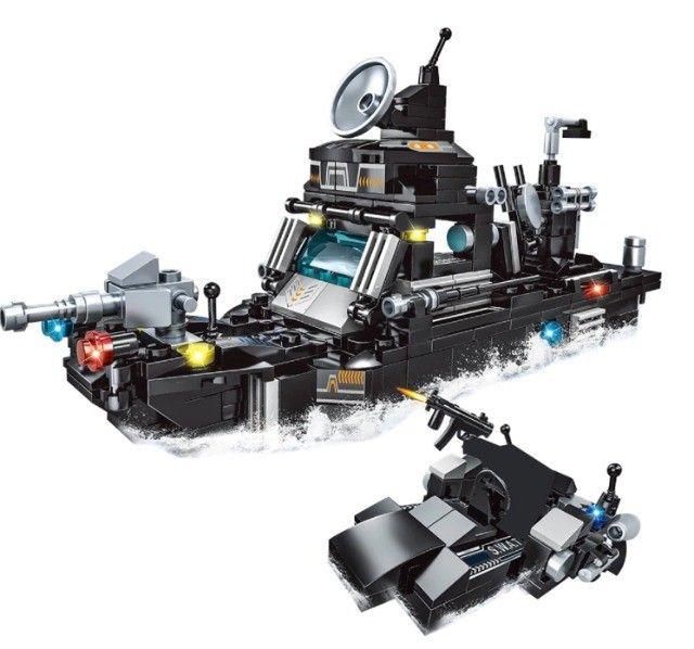 Lego Blocos de Montar Police Presente Swat Brinquedo  - Foto 6