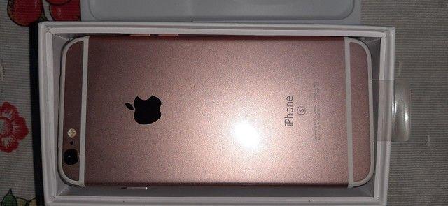 Iphone 6 s 34 gb novo na caixa - Foto 2