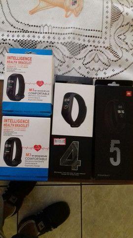 Smartbands (pulseiras inteligentes ) a partir  de R $59,90