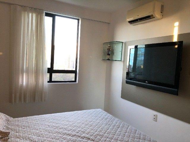 Rio Ariaú-84m²- 3 qtos s/ 1 suíte + escritório- andar intermediário-Mobiliado- Miramar - Foto 5