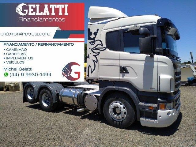 Scania g380 g420 volvo fh 440 460 mb iveco man carretas graneleiro cacamba - Foto 18