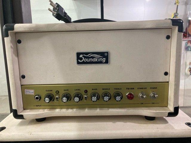 Amplificador valvulado para guitarra soundking semi-novo  - Foto 2