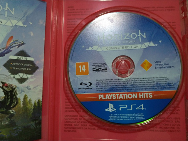 Horizon PS4 Estado de Novo - Foto 2