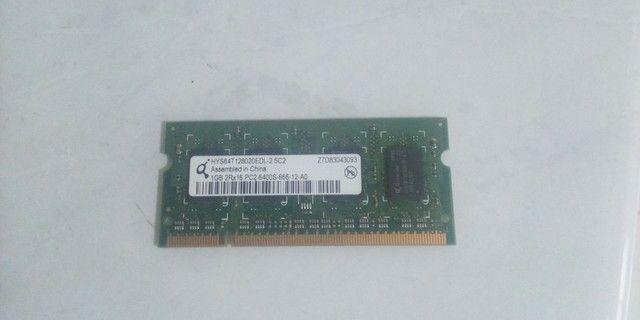 Memória Notebook 1 GB ddr 2  - Foto 2