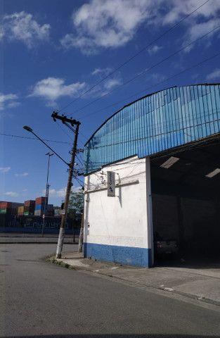 Excelente Galpão c/ escritórios em Santos /SP ( Prox. Av. Perimetral )