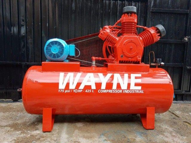 Compressor de ar 40 pés Wayne Industrial - Foto 3