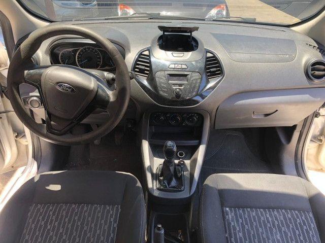 Ford K.A Sedan 1.5-(Ano 2015)-Completo com GNV. Entrada de 3 Mil + (48X de R$ 859,00) - Foto 2