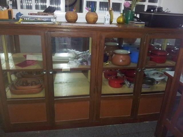 Tribo Xingu Artesanato ~ Armario tipo cristaleira, bancada, aparador buffet
