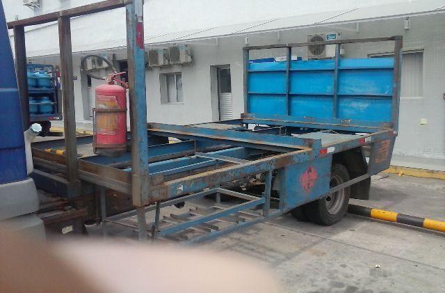 Carroceria paletizada para caminhão 3/4