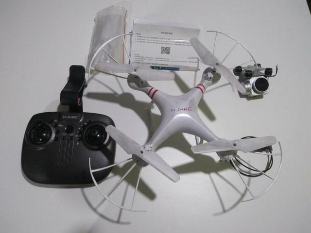 Drone HJHRC C/ camera completo