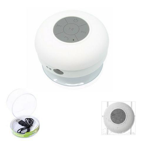 Mini Caixa Som Bluetooth Portátil Prova De Água Ventosa Várias Cores - Foto 4
