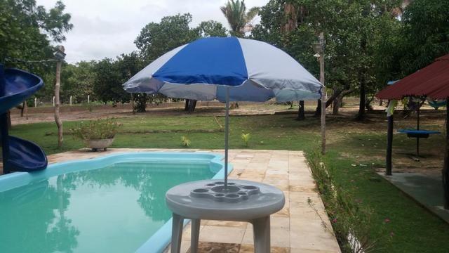 Mesa flutuante com cooler e porta copos para piscina - Foto 4