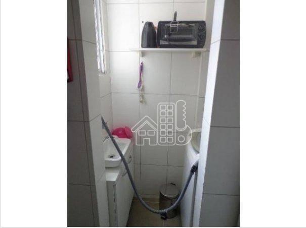 Apartamento com 1 dormitório à venda, 50 m² por R$ 302.100,00 - Icaraí - Niterói/RJ - Foto 11