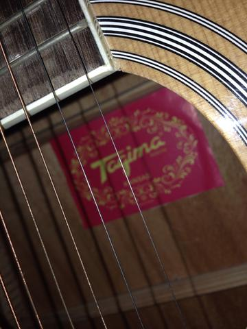 Violao tagima Kansas elétrico música folk excelente - Foto 2
