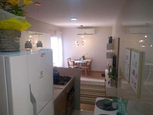 2 quartos com varanda ao lado da Niely - Monte Castelo - Foto 3