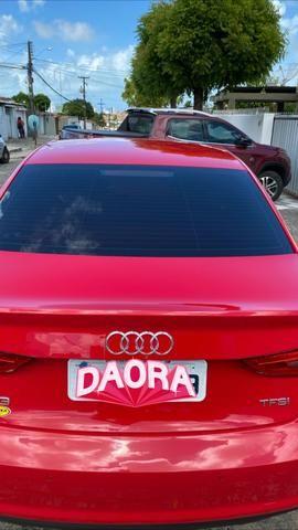 Audi A3 1.4 top de verdade super econômico VERMELHO FERRARI desconto de R$ 6.900