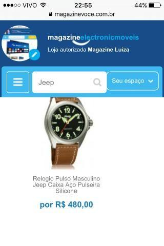 5c2820eca3d Relogio Pulso Jeep vários modelos consulte! - Bijouterias