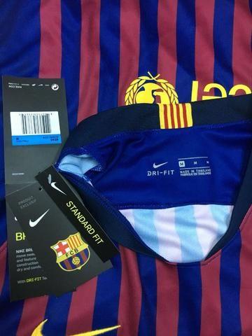 Chuteria adidas X18 + Camisa Barcelona Oficial - Esportes e ... 8d8a0085873fa