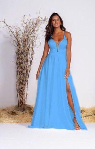 Vestido Longo de Festa BlueShop