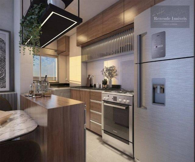 C-AP1645 Apartamento com 2 dorm à venda, 53 m² por R$ 297.900 - Bacacheri - Curitiba/PR - Foto 4