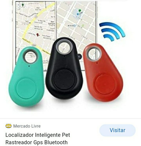 Rastreador de pet bluetooth